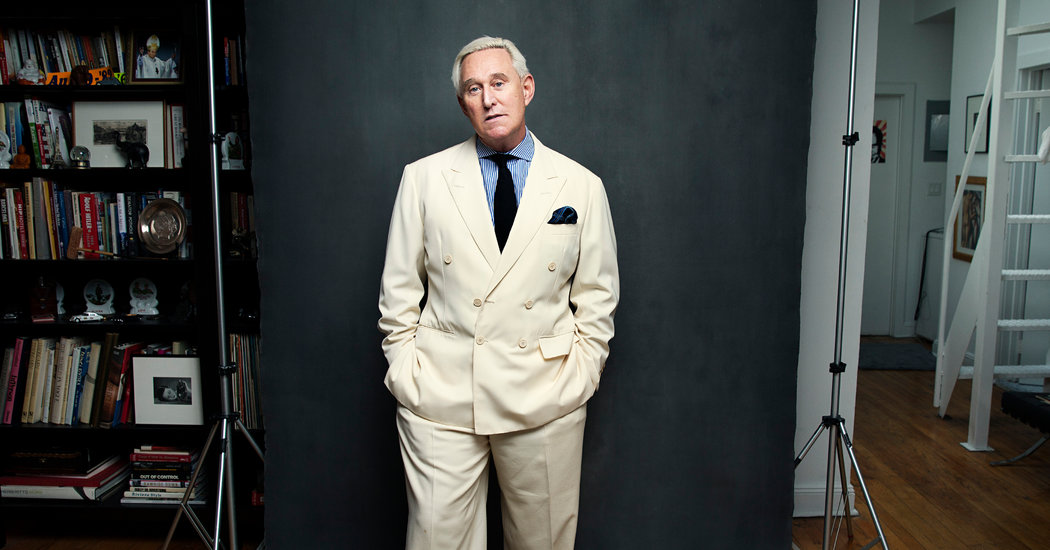 Has History Finally Caught Up With Roger Stone? It May Be Up to Trump