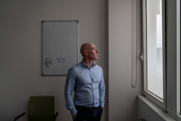 Dr. Ian Gabriel,an expert in bone marrow transplants for treating cancer, including in people with H.I.V., at the Chelsea and Westminster Hospital, where he first met Mr. Castillejo.