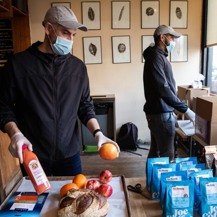Restaurants Cling to Delivery During Coronavirus Crisis - The New ...