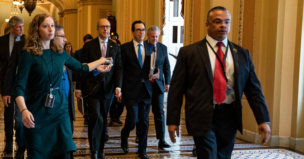 Democrats Near Deal With White House on Stimulus Package