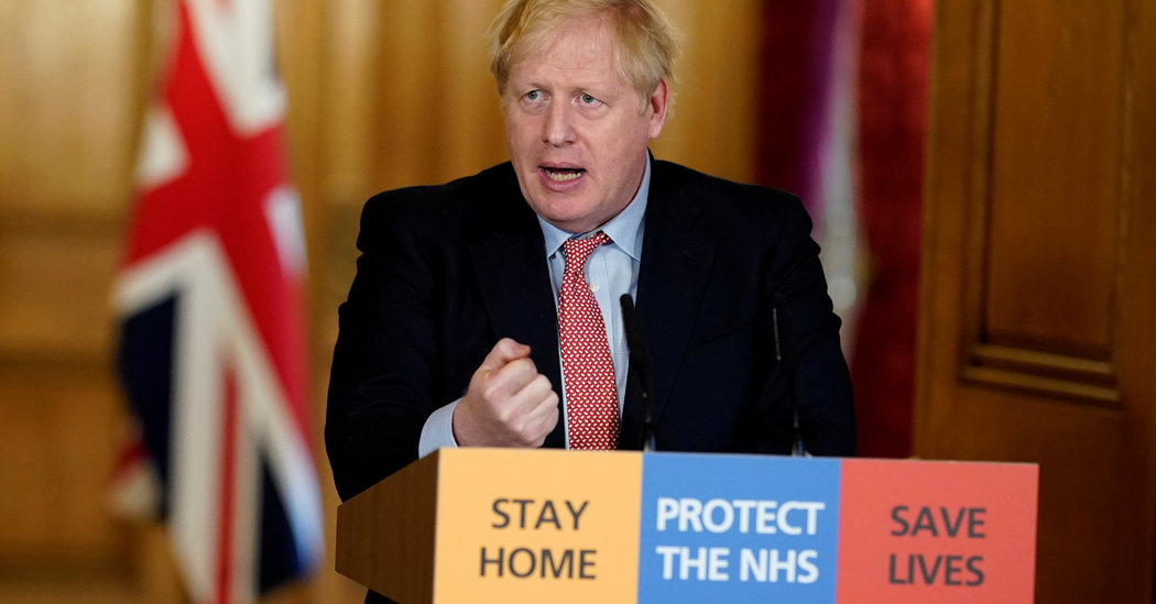 Boris Johnson Hospitalized as Queen Urges British Resolve in Face of Epidemic