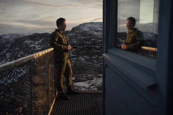 Pvt. Sander Badar of the Norwegian Army watching the waters off Russia's northern coast.