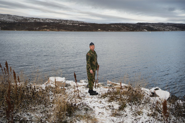 Col. Eystein Kvarving of the Norwegian Army.