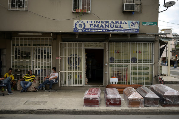Ecuador's Death Toll During Outbreak Is Among the Worst in the ...