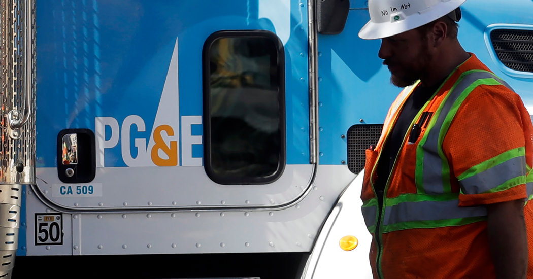 PG&E Says Wildfire Victims Back Settlement in Bankruptcy