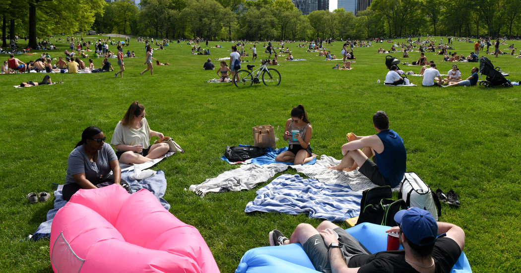 New York Relaxes Rules, Approving All Gatherings of Up to 10 People