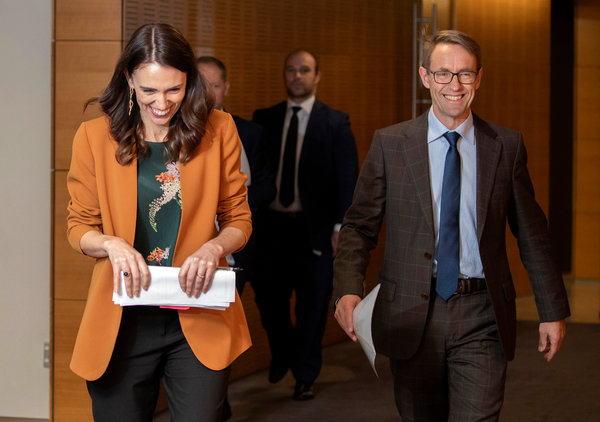 """While the job is not done, there is no denying this is a milestone,"" Prime Minister Jacinda Ardern said."