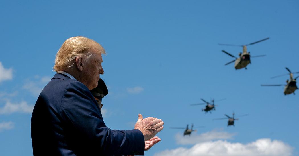 Photo of Trump's Halting Walk Down Ramp Raises New Health Questions