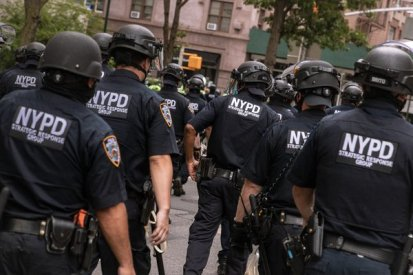 City officials were under intense pressure to reduce the Police Department budget.