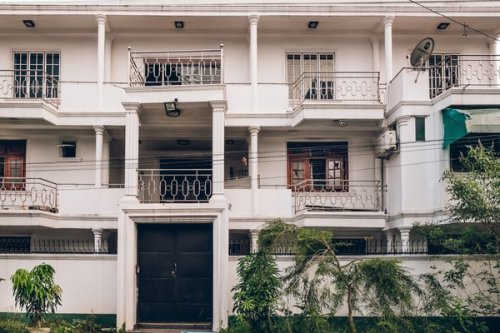 The Ibrahim family mansion in the Mahawila Gardens section of Colombo. Ilham's wife, Fatima, detonated her own suicide vest here as the police were closing in.
