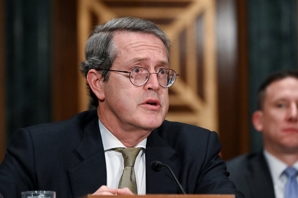 Randal K. Quarles, the vice chair for supervision on the Federal Reserve Board of Governors.