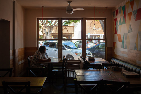 Gabriel Gordon shuttered his popular barbecue restaurant in California after the state saw a resurgence of coronavirus cases and imposed new restrictions.