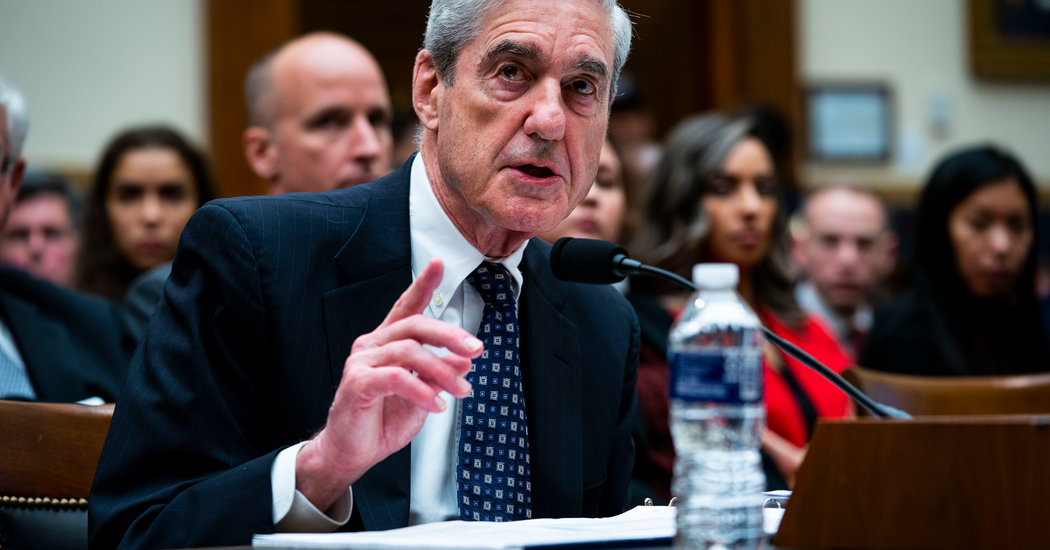 Photo of In Rare Public Comments, Mueller Defends Prosecution of Roger Stone
