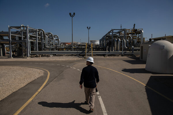 A Noble Energy facility in Israel.