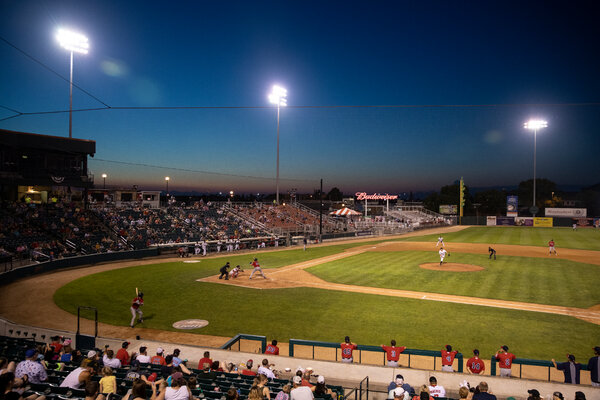 The Fargo-Moorhead RedHawks play in the American Association, where six teams are trying to play the season.