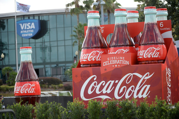 Coca-Cola attributed much of the declines in the quarter to continued weakness in its away-from-home channels, such as restaurants and theaters