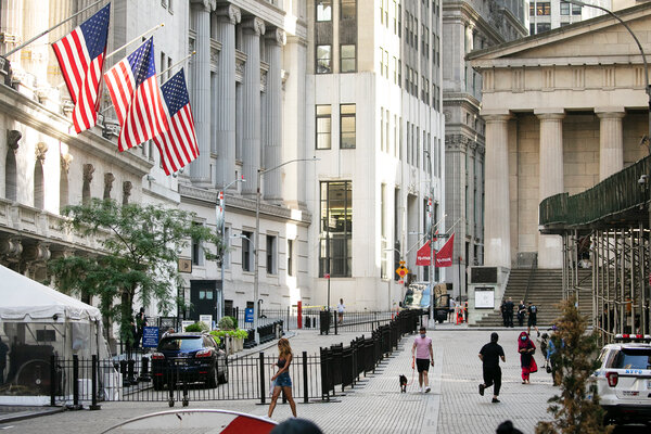 In New York, futures suggested a modest gain when trading begins on Wall Street.