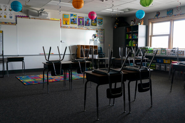 Diabetes Symptoms An elementary school classroom in Royal City, Wash. Only 7 percent of schools in the state employ a full-time nurse.