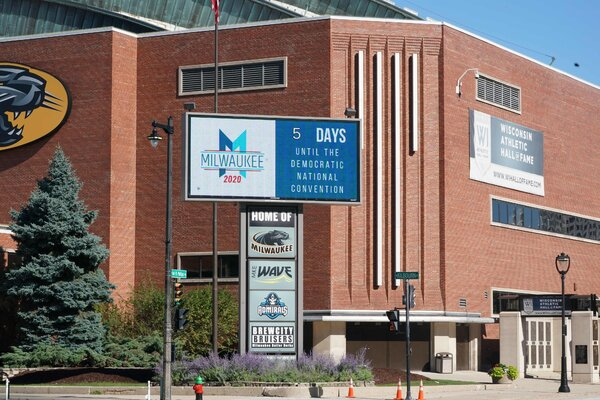 With the virtual nature of the convention, theWisconsin Center will serve as the production hub, with attendance limited to personnel responsible for operating the event.