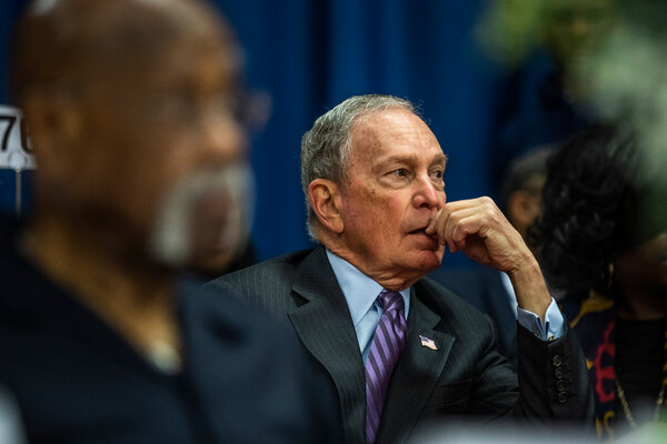 The former New York mayor Michael Bloomberg's billion-dollar campaign for the presidency lasted just over three months.