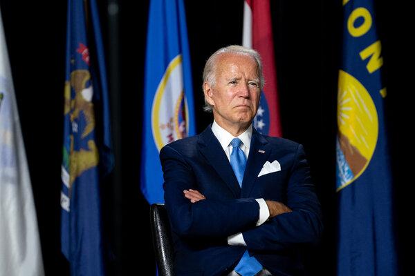 Security: Joseph R. Biden Jr. will accept the Democratic presidential nomination on Thursday.
