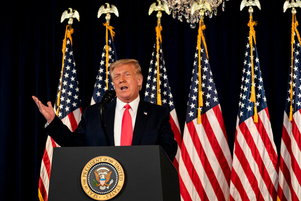 President Trump earlier this month temporarily deferred payroll taxes as a way to provide aid to workers. He has said that he hopes to make cut permanent if he is re-elected.