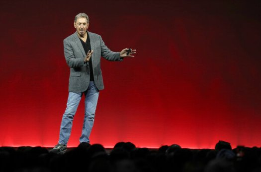 Larry Ellison, Oracle's co-founder and chairman, hosted a fund-raiser for President Trump at his home this year.