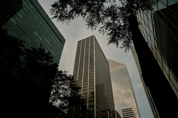 Less than 10 percent of workers had returned to New York's skyscrapers as of last month, according to a survey by the Partnership for New York.