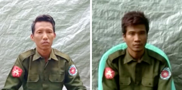 Pvt. Myo Win Tun and Pvt. Zaw Naing Tun are the first members of Myanmar's military to openly confess to taking part in what United Nations officials say was a genocidal campaign against the country's Rohingya Muslim minority.