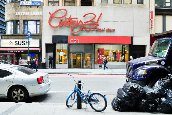 The department store Century 21 is shutting down.