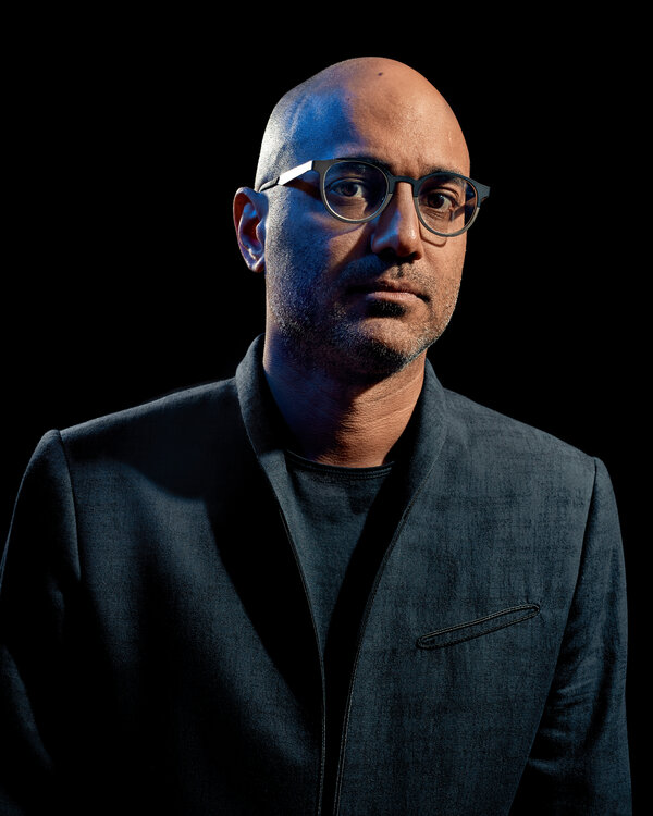 "Ayad Akhtar, the Pulitzer Prize-winning playwright whose new novel is ""Homeland Elegies."""