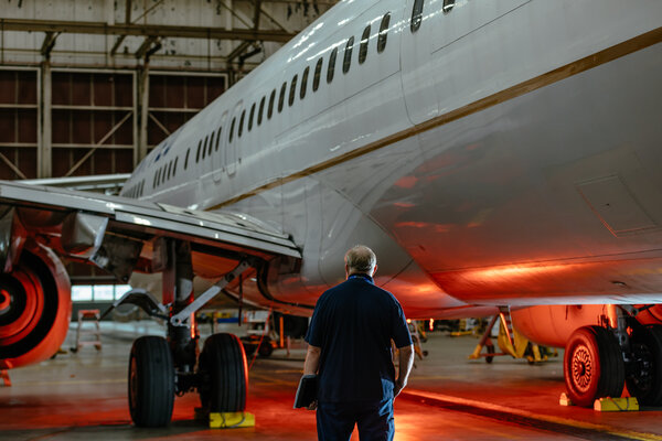 Parking planes at major airports like O'Hare allows technicians to get them back into service more easily  if needed.