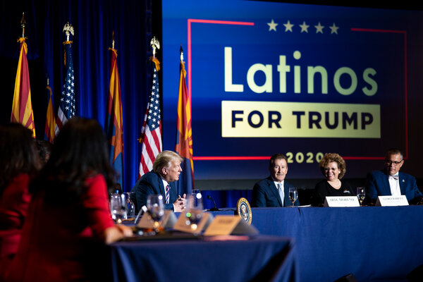 President Trump won Arizona in 2016 but polls this summer show him trailing Joe Biden in the state.  Election Updates: Fires and Coronavirus Shadow Trump on Campaign Trail merlin 177034515 6790394c 3210 43ce a4ff 3dae0f33df06 articleLarge