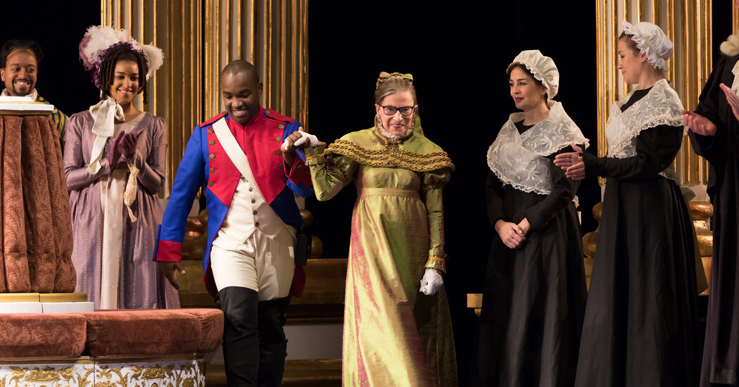 Ruth Bader Ginsburg Loved Opera, and Opera Loved Her Back