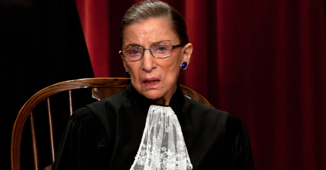 Photo of Ruth Bader Ginsburg's Lace Collar Wasn't an Accessory, It Was a Gauntlet