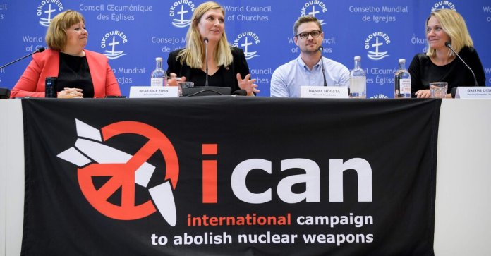 Former World Leaders Urge Ratification of Nuclear Arms Ban Treaty