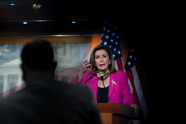 House Speaker Nancy Pelosi last week pledged to keep the House in session until there was a deal.