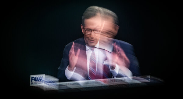 Conservative social media was full of attacks on Chris Wallace, the debate moderator on Tuesday.