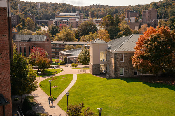 The Appalachian State University campus in Boone, N.C., was quiet on Sunday.