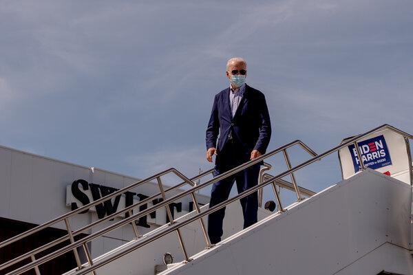 Joseph R. Biden Jr. in Phoenix on Thursday.
