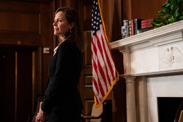 Supreme Court nominee Judge Amy Coney Barrett, who will appear before the Senate Judiciary Committee this week.