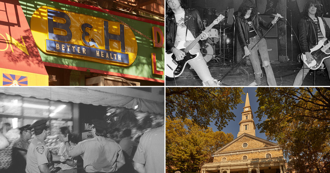 The East Village, Home of Punks and Poets: Here's a Tour