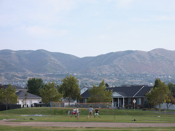 Students at Corner Canyon had to wear masks but coronavirus testing was not part of its reopening plan.