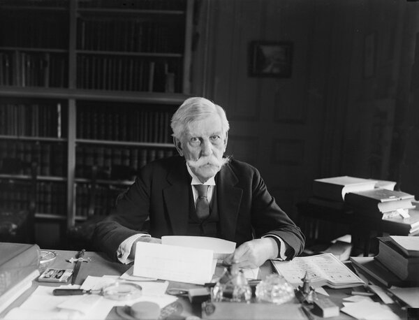 """Justice Oliver Wendell Holmes Jr. helped establish modern American free-speech protections with his position on the """"free trade in ideas."""""""