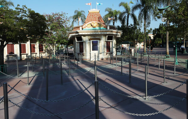 The Disneyland park in California has been closed since March.