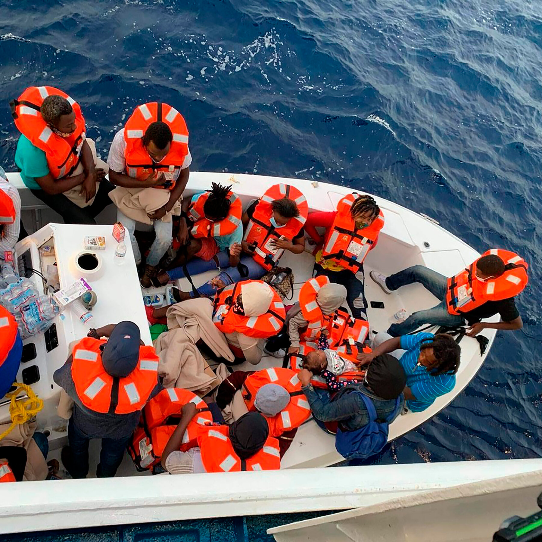cruise ship rescues 24 people from