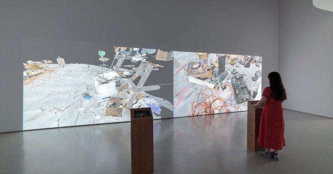 An iPad Studio Tour Finds Bruce Nauman Pushing Limits
