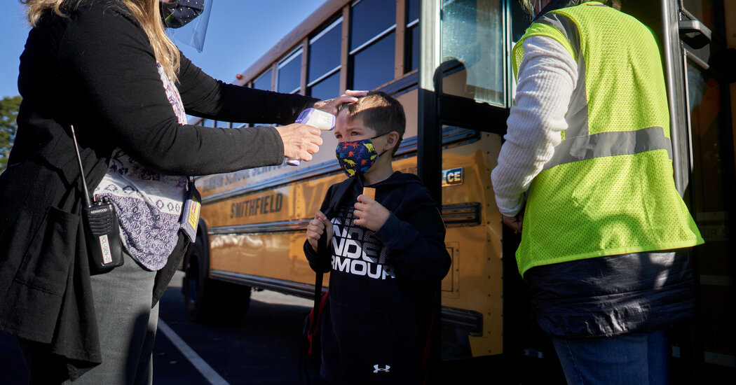 Schoolchildren Seem Unlikely to Fuel Coronavirus Surges, Scientists Say