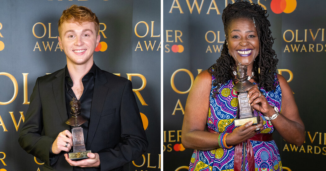 'Dear Evan Hansen' and 'Leopoldstadt' Pick Up Olivier Awards