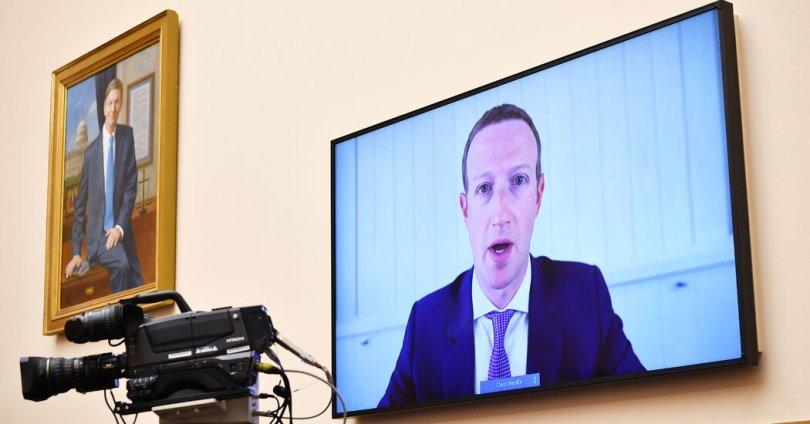 Zuckerberg, Dorsey Head Back to Washington: Live Tech Hearing Updates